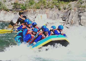 White Water Rafting on the Kananaskis River