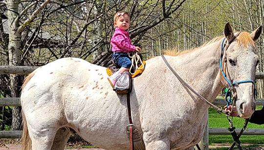 Boundary Ranch - Kananaskis, Alberta - Pony Rides2
