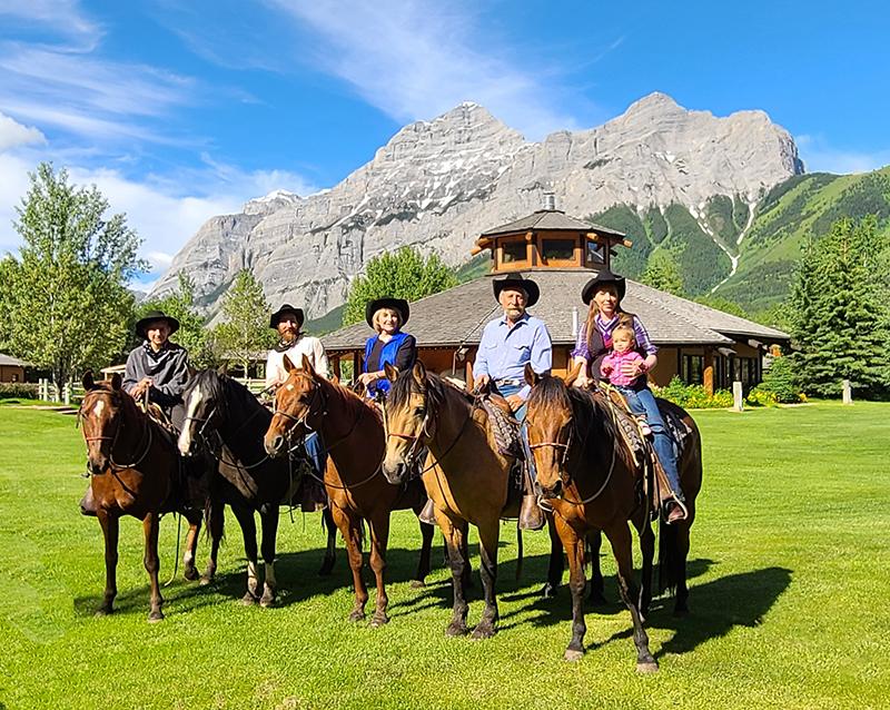 Boundary Ranch, Guinn Family photo 2021