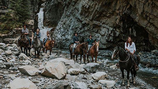Boundary Ranch, Kananaskis, Alberta - Kananaskis Adventure Horseback Riding Tour