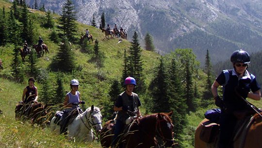 Boundary Ranch - Kananaskis, Alberta - Pack Trips Tour