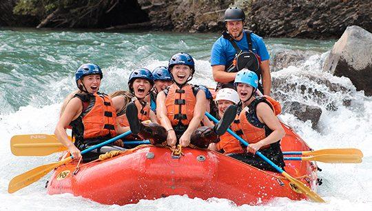 Rafting Adventures with Boundary Ranch - Kananaskis, Alberta